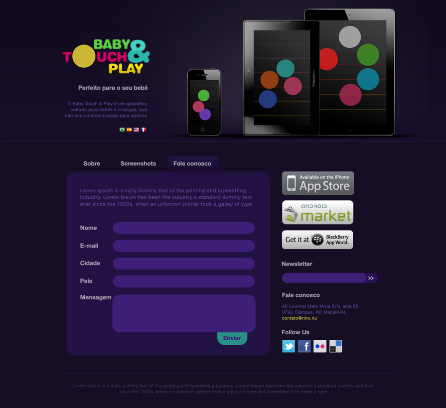 Rino | Baby Touch & Play